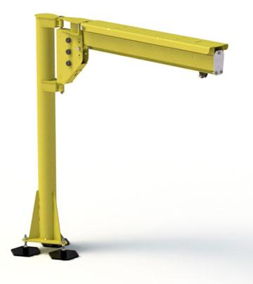 Jib Crane Free Standing 270 186 Low Headroom Jib Cranes